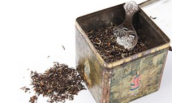 Tee-Aufbewahrung und Tee-Lagerung