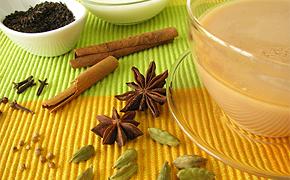 Teezeremonie in Indien