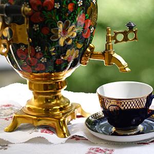 Tee Auf Russisch