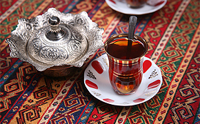 Teezeremonie in der Türkei