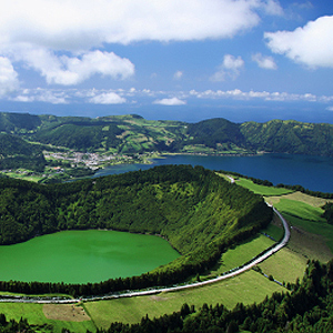 Teeanbaugebiete auf den Azoren