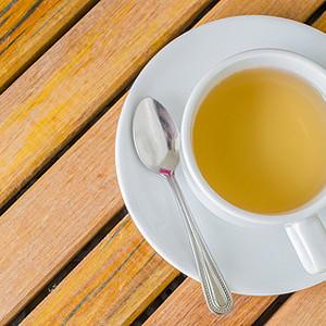 Gelber Tee