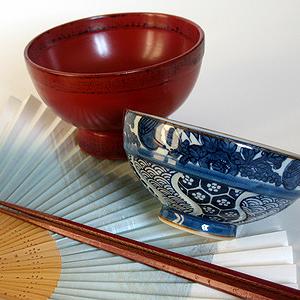 Teeschalen aus Japan