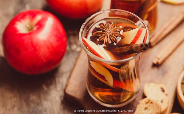 Fitmacher, Durstlöscher und gesund auch noch: der Apfeltee