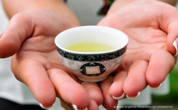 Kekecha: Gelber Tee mit nussigem Geschmack
