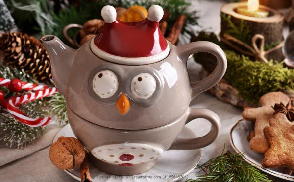 Für ewige Junggesellen: Tea-for-One-Set