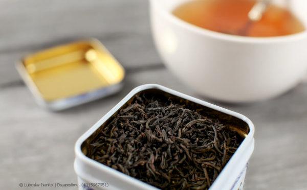 Wichtig für das Aroma: die Tee-Aufbewahrung