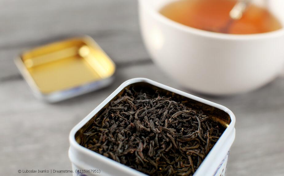 Tee-Dose für die Tee-Aufbewahrung