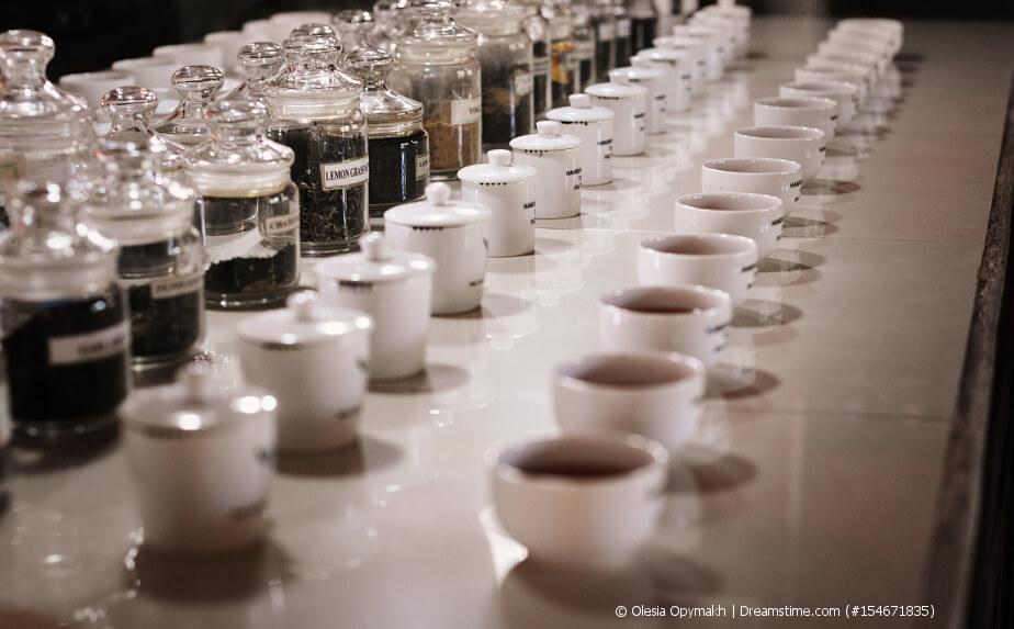 Tee-Sommelier - Tee testen