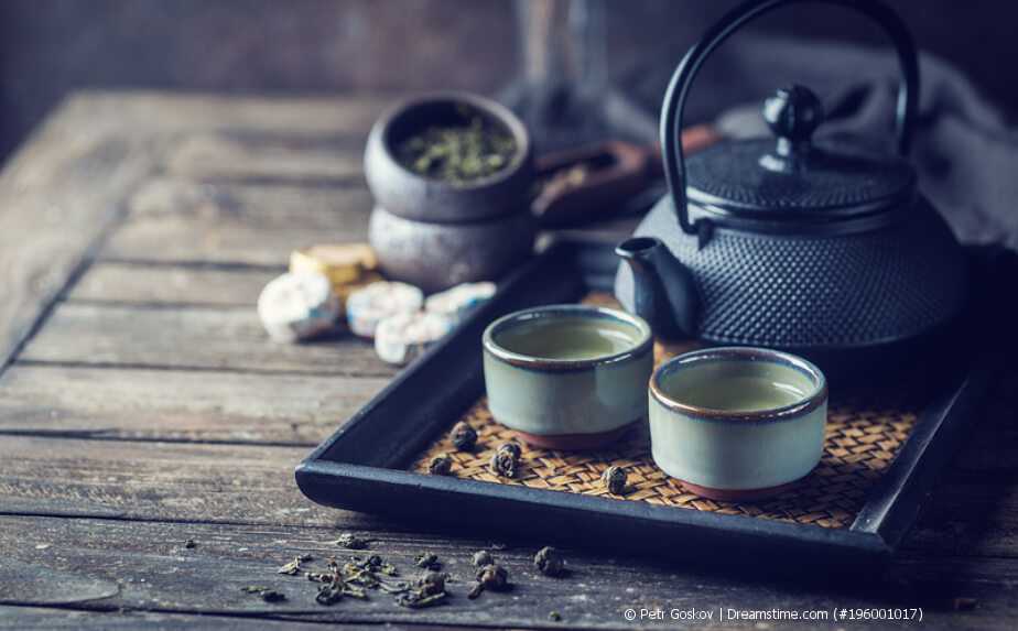 Tee zweiter Aufguss